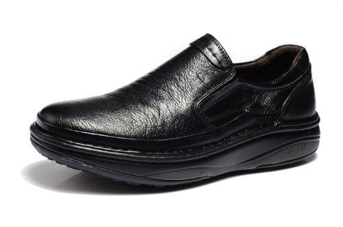 Vancamel 西域骆驼 新款时尚真皮经典高端套脚正装鞋 英伦简约舒适男鞋 头层牛皮奢华男鞋 绅士风个性商务休闲鞋 男鞋