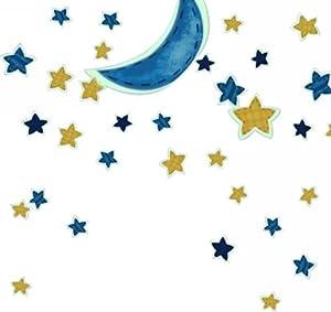 光墙贴月亮星星z001