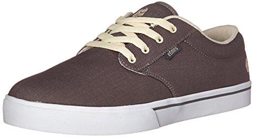 Etnies Men's Jameson 2 Eco Skateboard Shoe, Grey/Tan, 9 M US
