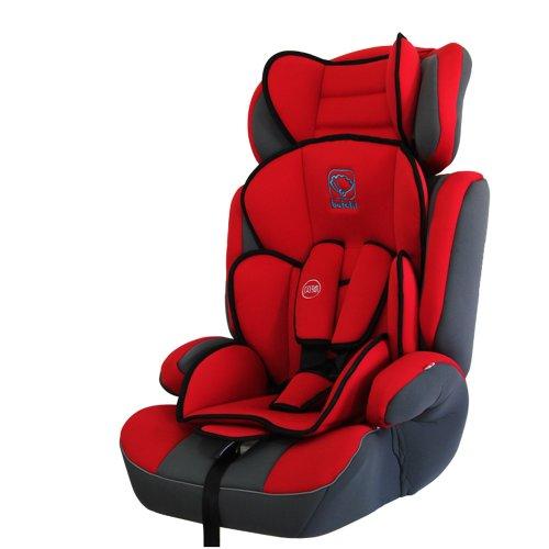 贝驰  加厚宝宝汽车婴幼儿童安全座椅 (活泼红)-图片