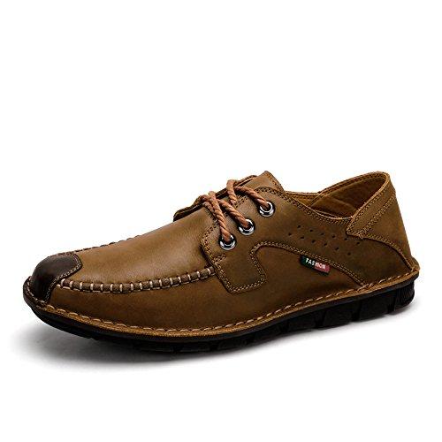 Camel 骆驼 2015春季新款系带复古男鞋 日常休闲男士皮鞋