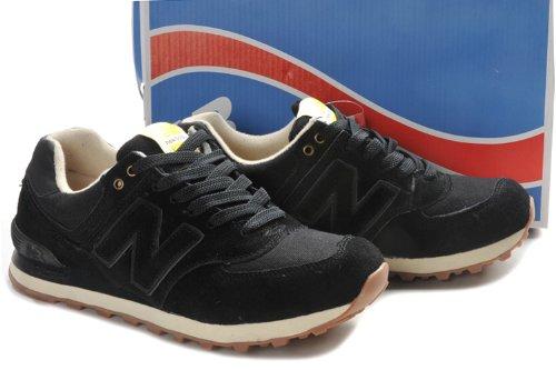 New Balance 新百伦 工装系列 男式运动复古休闲鞋 黑色 ML574WKK