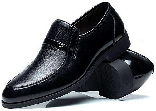 FGN 皮鞋 男士 时尚商务休闲皮鞋 型男正装鞋 套脚尊贵男鞋11401797