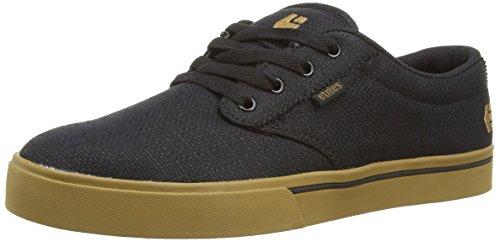 Etnies Men's Jameson 2 Eco Skateboard Shoe, Black/Brown/Green, 8.5 M US