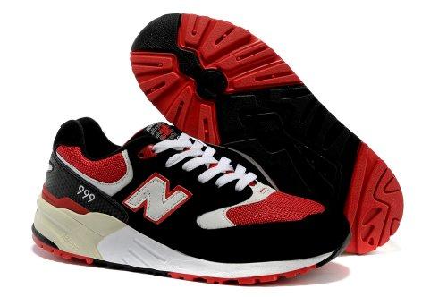 New Balance 新百伦 999系列 休闲 运动  跑步鞋 男士潮流鞋 新成:81 黑红白