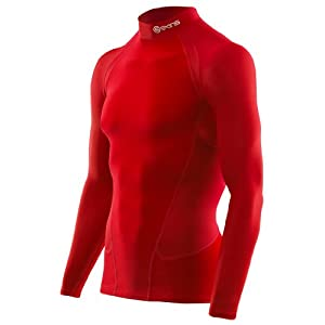 skins 思金斯 G400高尔夫系列 运动紧身高领保暖长袖上衣 男式 B45013059