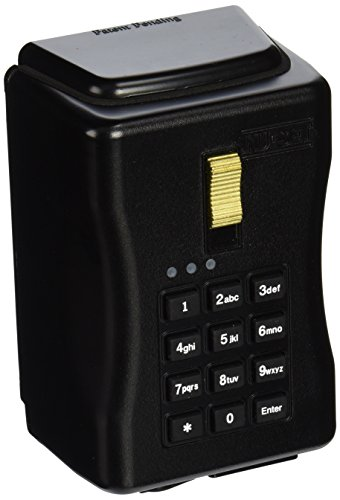 商品nu-set 7060-3 wall-mount electronic key storage lock box