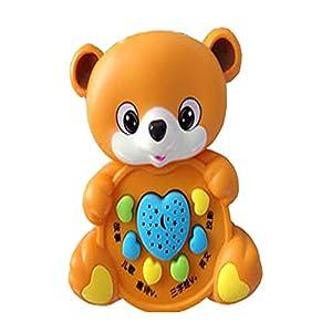 小熊拍手简笔画