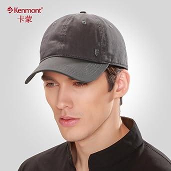 kenmont春夏季男士鸭舌帽子 夏季太阳帽 男生帽子 休闲棒球帽3046