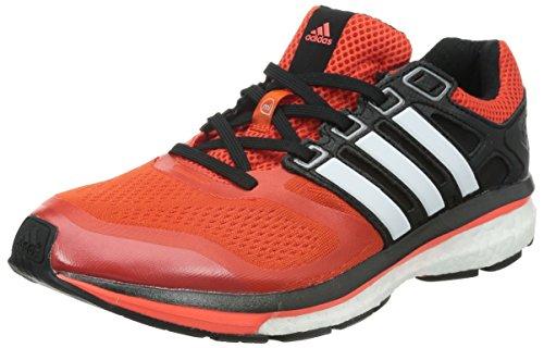 Adidas 阿迪达斯 运动超极限 男 跑步鞋supernova glide 6 m M17426 深橙黄/亮白/红荧光 39