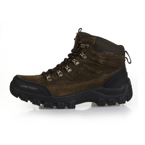 Cantorp 骆驼登山鞋户外鞋男正品 男 徒步鞋 高帮防水 C14022反绒皮