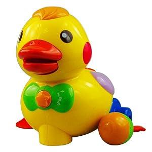 AUBY 澳贝 463318 婴儿启蒙玩具 乖乖小鸭+摇铃*2个 69.3元包邮