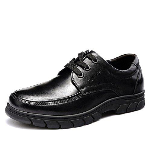 FGN 富贵鸟 时尚英伦商务休闲鞋男式头层牛皮鞋韩版男士正装皮鞋 B7316