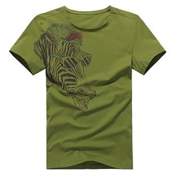 短袖t恤 绿色 m(170/88a)