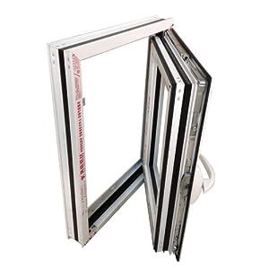 伟启佳 凤铝55系列 隔热断桥铝合金窗 窗扇 计价单位