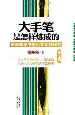 大手笔是怎样炼成的:理论篇.pdf