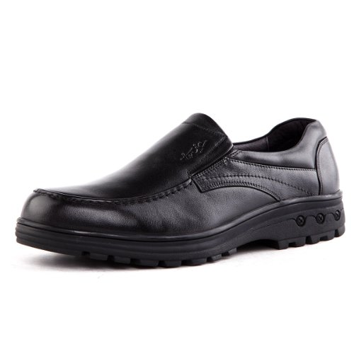 Tony Johnson/托尼琼斯 秋季新品透气牛皮商务休闲套脚男士皮鞋 Q5963199