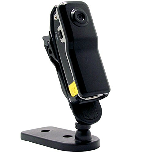 Thinkga 想家 微型摄像机 MD80 高清无线监控摄像头 无线超小航拍录像机 录像录音  拍照单独录音 循环覆盖 边充边录 录像不亮灯 电脑摄像头功能 还可以当作安防监控、行车记录仪使用哦! (32G内存卡, 国产版)-图片