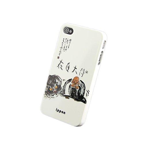 iphone4s禅智 得大自在 保护壳 苹果4代手机壳套 苹果4S 保护套 手机图片