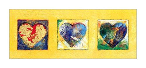 画心古筝谱g-原版进口装饰画 心脏破碎机 II【Heart Breakers II】 50x20cm 心装饰画|
