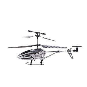 倾斜盘结构,控制直升机的前进/后退,左/右侧飞,具有较强的抗风性,可在