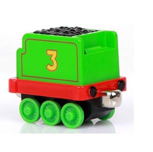 汇乐 合金磁性托马斯小火车玩具 高登亨利爱德华 拖箱