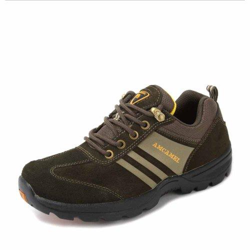 AMCAMEL 花旗骆驼 正品男鞋 系带舒适 户外休闲男鞋 内增高 H2330012