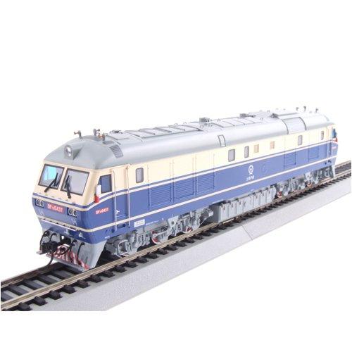 评论 百万城 火车模型 内燃机车 DF11 0437 上局沪段