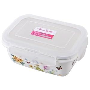 Amai18 安买 长方形陶瓷保鲜盒 400ml  AM-0105   9.9元(满29元包邮)