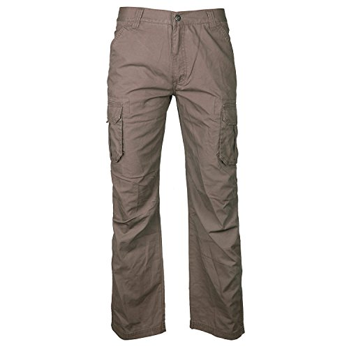 SnowWolf 雪狼 男式 款工装水洗裤 11012301-X025 深卡其1 175/78A-图片
