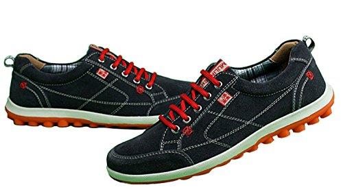mulinsen 木林森 牛反绒男士休闲鞋 韩版新款舒适板鞋 时尚百搭男鞋