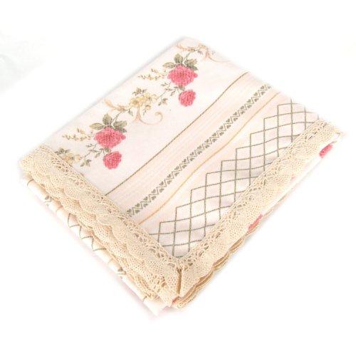 凡米莉温馨田园系列 欧式印花桌布 加厚棉布印花面料80%棉 20%涤 90*