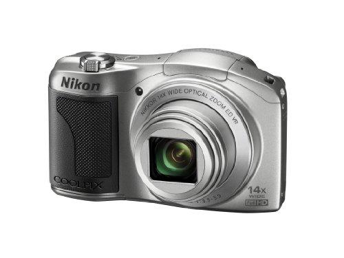 Nikon 尼康 COOLPIX L610 便携数码相机(银色)