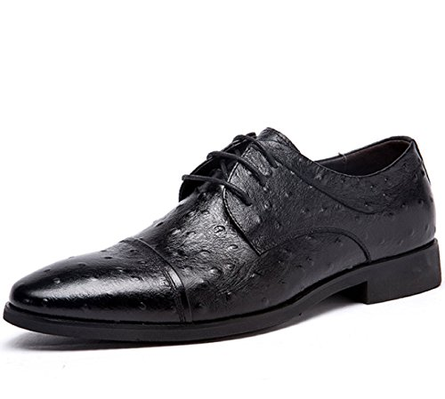 富贵鸟 英伦男士系带低帮透气复古经典头层牛皮真皮商务休闲鞋正装鞋皮鞋单鞋男鞋子