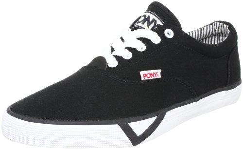 PONY 波尼 Old School复古经典 男帆布鞋/硫化鞋 911M1A85BK