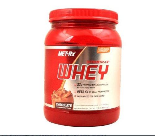 MET-Rx美瑞克斯乳清蛋白粉固体饮料巧克力味453g(原装进口)-图片