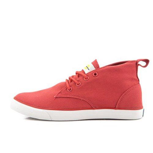 宝达 2014春夏季高帮情侣款帆布鞋时尚正品硫化帆布鞋潮流纯色高帮帆布鞋BW0002
