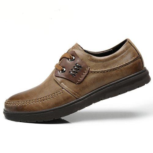 FGN 富贵鸟 男鞋子英伦商务休闲鞋真皮皮鞋牛皮 A396118