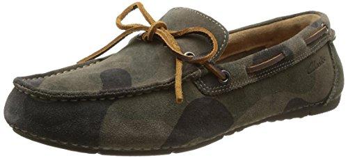 Clarks 男 生活休闲鞋Marcos Edge 261070217