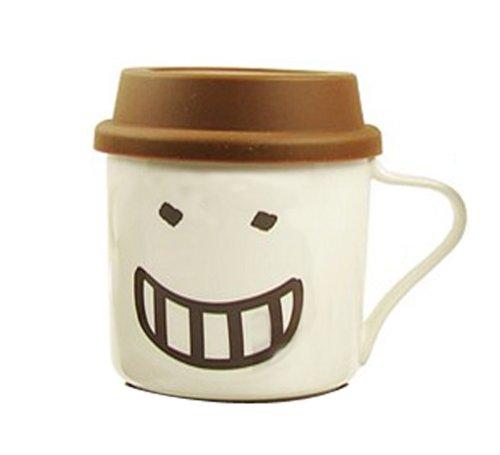 快乐家 带硅胶盖搞笑生活帽子表情杯 超级可爱qq杯 (a008-c4)