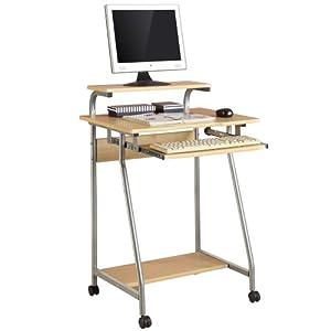 心家宜 艾智皇家松木纹双层电脑学习桌xm-621s(宜家办公桌学习桌写字