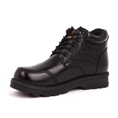 强人 3515强人正品 冬季男士运动休闲棉鞋 真皮保暖羊毛棉靴