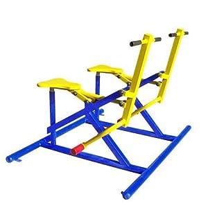 强盟 户外健身器材 小区健身器材 公园健身器材 健身路径 二联椭圆机