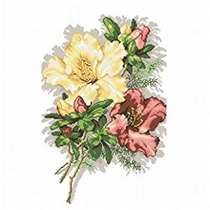 dmc 多美绣 大幅客厅卧室欧式花卉油画美丽花束 法国