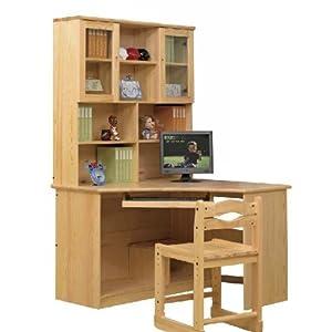 角儿童实木书桌