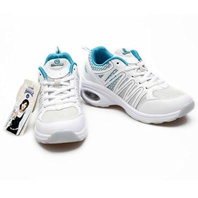 网面透气运动女鞋