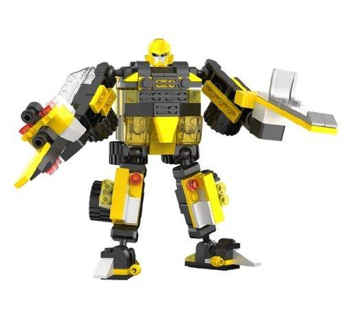 星钻积变积木乐高式塑料拼装图纸模型战士益里面儿童R的图片