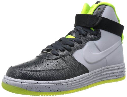 Nike 耐克 运动生活系列 男 休闲跑步鞋NIKE LUNAR FORCE 1 LUX VT  630998-002 煤黑/狼灰 45 (US 11)-图片