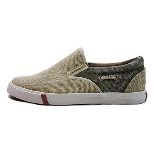 双星 帆布鞋男鞋一脚蹬低帮帆布鞋板鞋商务休闲LM328