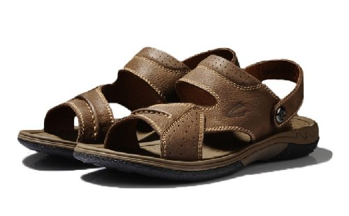 Camel active 骆驼动感 新款夏日清凉舒适沙滩鞋 真皮商务休闲男士凉鞋 头全牛皮户透气凉鞋 时尚爆款时装凉鞋 男鞋